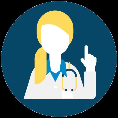Número 1 em recomendação dos médicos